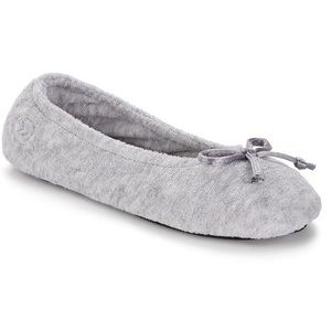 Isotoner Signature Terry Ballet Flat Slippers